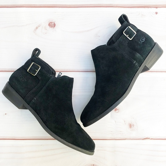 "UGG Shoes - UGG | ""Kelsea"" Suede Leather Chelsea Boot"